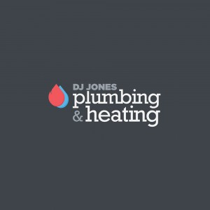 DJ Jones Plumbing & Heating Branding