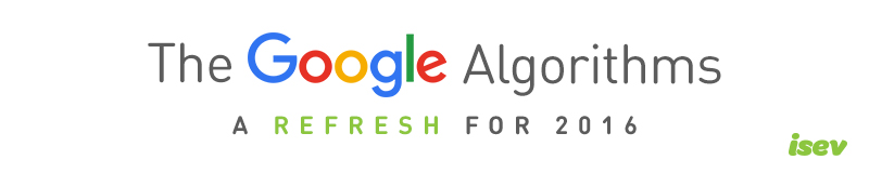 Google algorithms, what they are and do