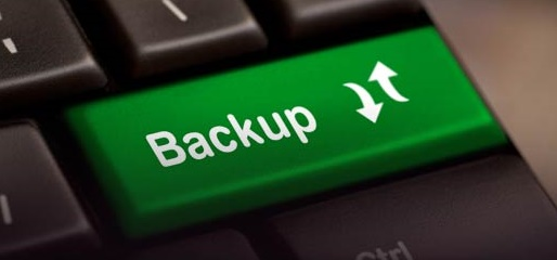 Taking regular backups for security